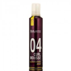 ESPUMA CURL MOUSSE  SALERM 300ML.